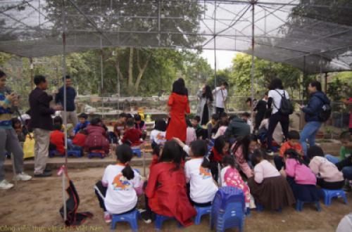 Học tập trải nghiệm trồng cây - AFK Hà Nội