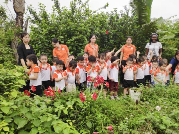 Mầm non Mặt trời nhỏ Little Sun Preschool tham gia khám phá thiên nhiên