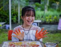 Một buổi trải nghiệm CLB Vẽ - Nặn thiên nhiên của các bé (T10/2020)