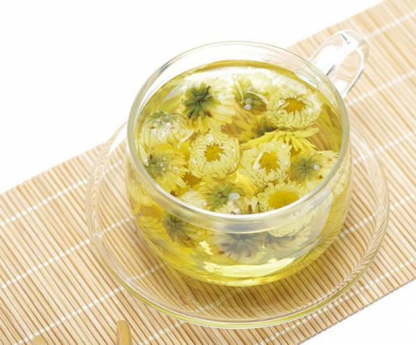 Tác dụng kỳ diệu của trà hoa cúc đối với cơ thể
