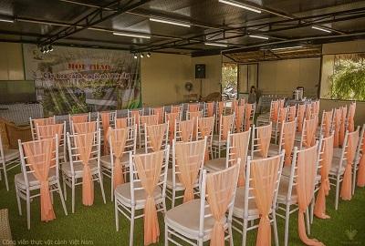 Địa điểm tổ chức sự kiện ECO (Sinh thái) tại CV thực vật cảnh VN