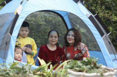 Các hoạt động vui chơi, thư giãn của gia đình tại Công viên