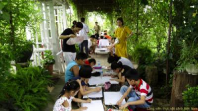 Những hoạt động lý thú cho bé tại Công viên thực vật cảnh Việt Nam